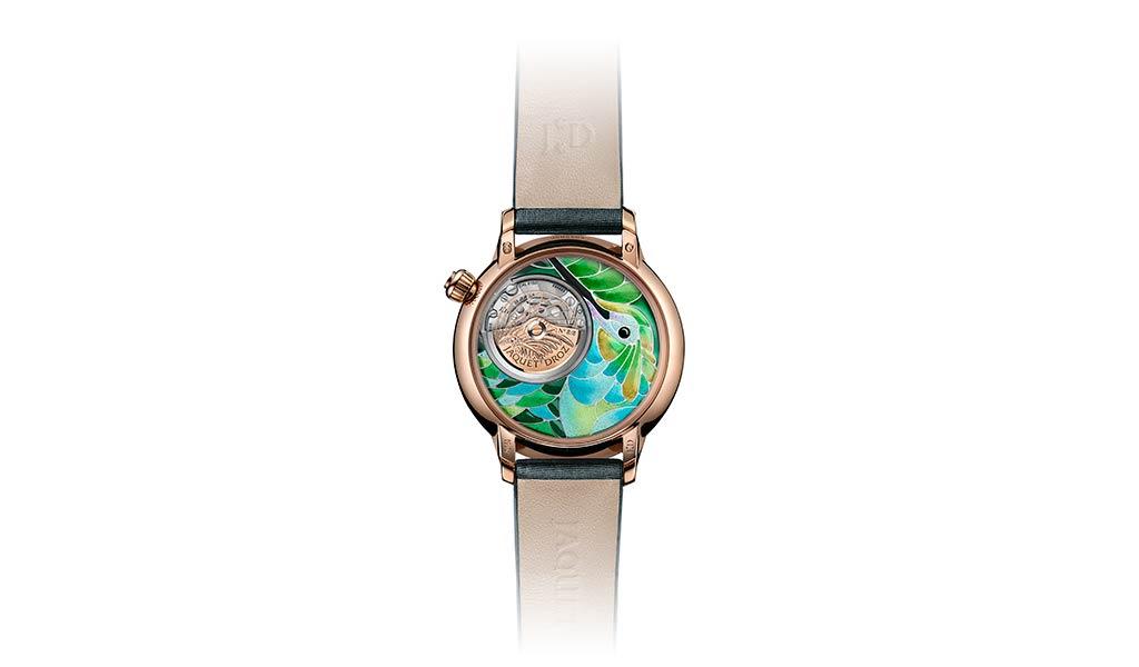 Швейцарские часы с бриллиантами Jaquet Droz
