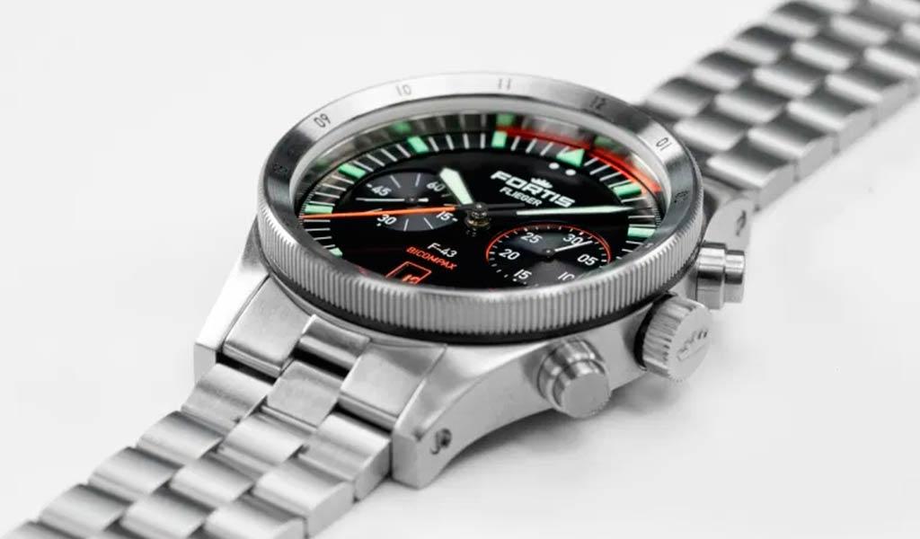 Новые часы Flieger F-43 Bicompax