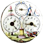Циферблат часов французской революции