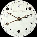 Циферблат французких часов