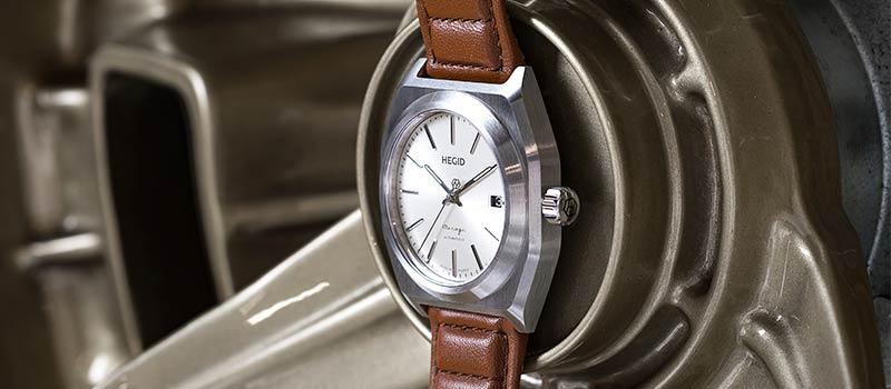 Французский часовой бренд Hegid представляет наручные часы Mirage
