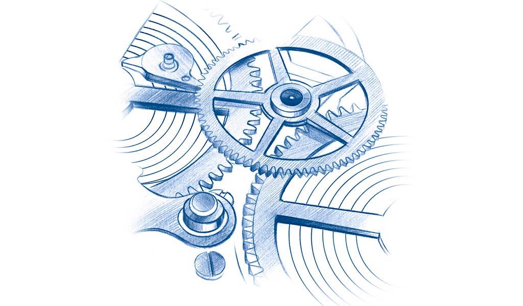 Механизм часов Oris Aquis Date Calibre 400