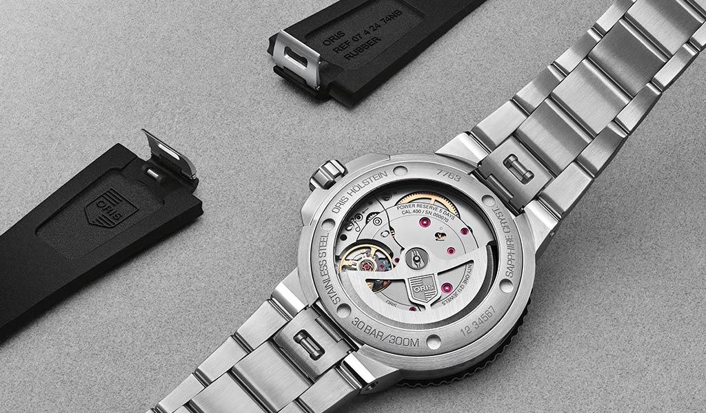 Часы для дайвинга Oris Aquis Date Calibre 400