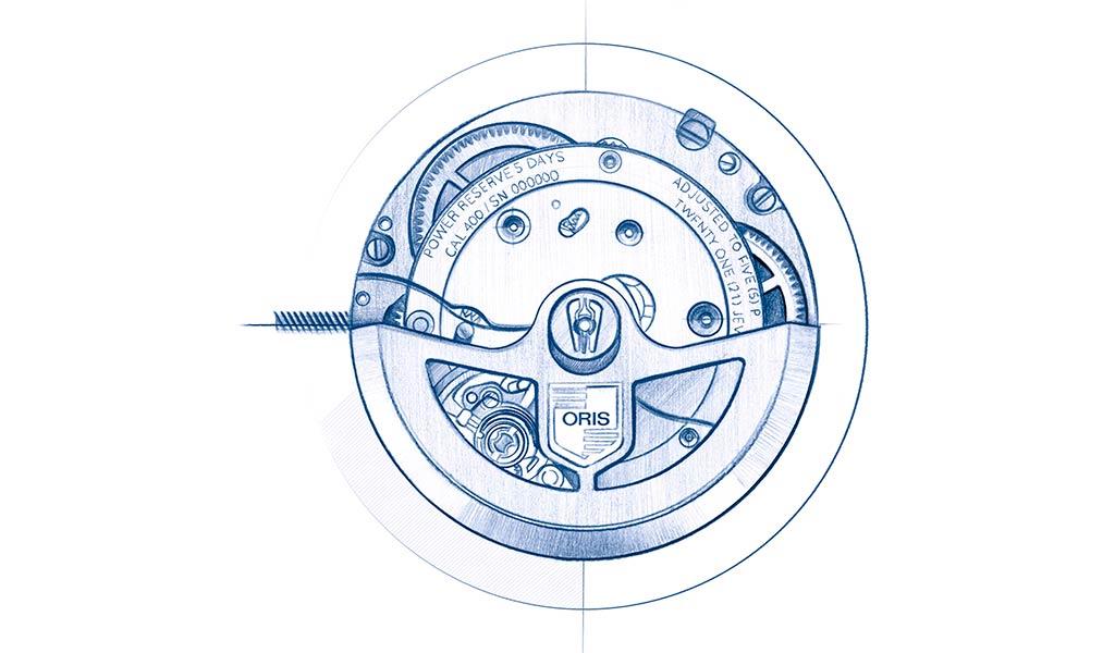 Часовой механизм Oris Calibre 400