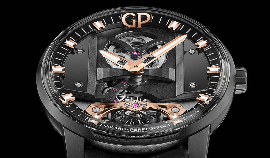 Новая модель часов Girard-Perregaux Bridge