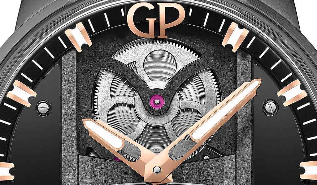 Часы новинка Girard-Perregaux Bridge