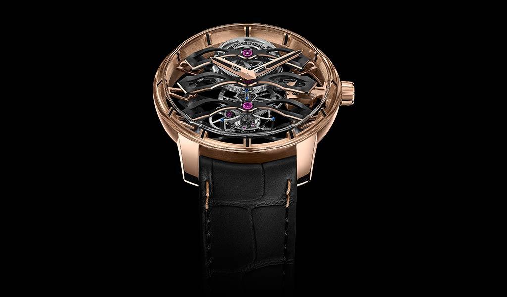 Новые механические часы с турбийоном Girard-Perregaux