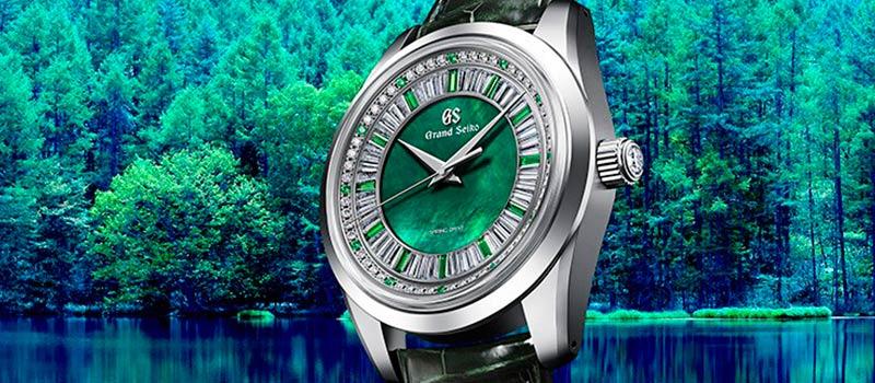Grand Seiko представляет ювелирные часы Spring Drive