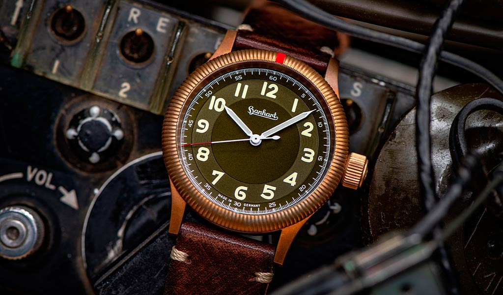 Часы Hanhart PIONEER One Bronze
