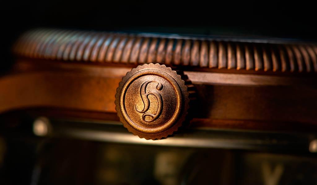 Часы из бронзы Hanhart PIONEER One Bronze