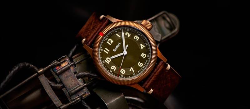 Новые часы Hanhart PIONEER One Bronze, лимитированное издание