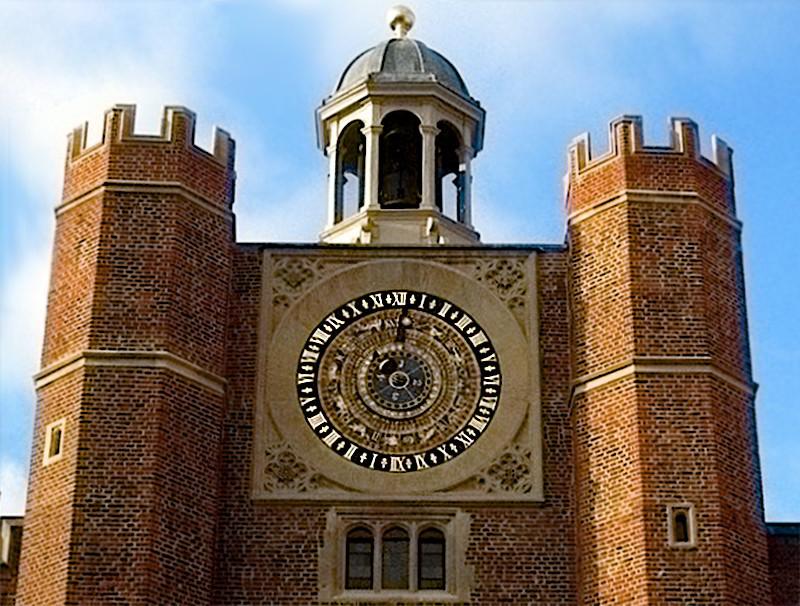 Часы Hampton Court