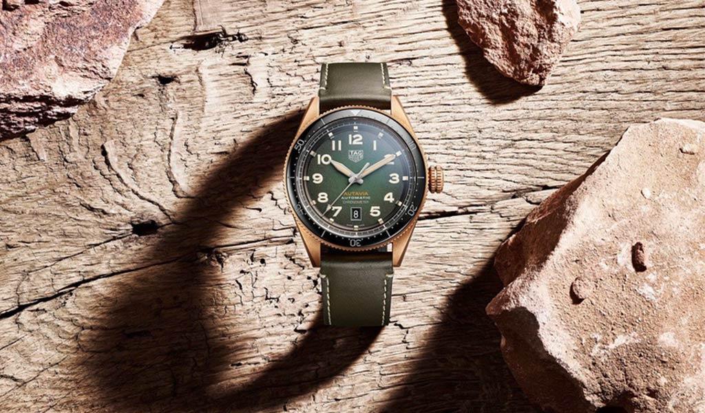 Часы из бронзы TAG Heuer Autavia Bronze