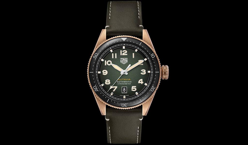 Бронзовые часы TAG Heuer Autavia Bronze