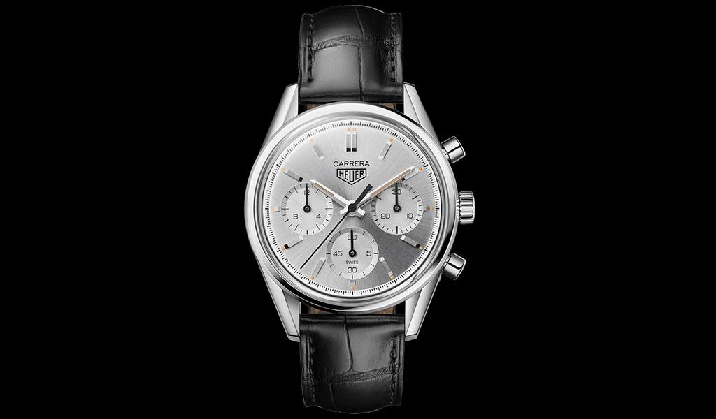 Часы TAG Heuer Carrera 160 Years Silver Edition