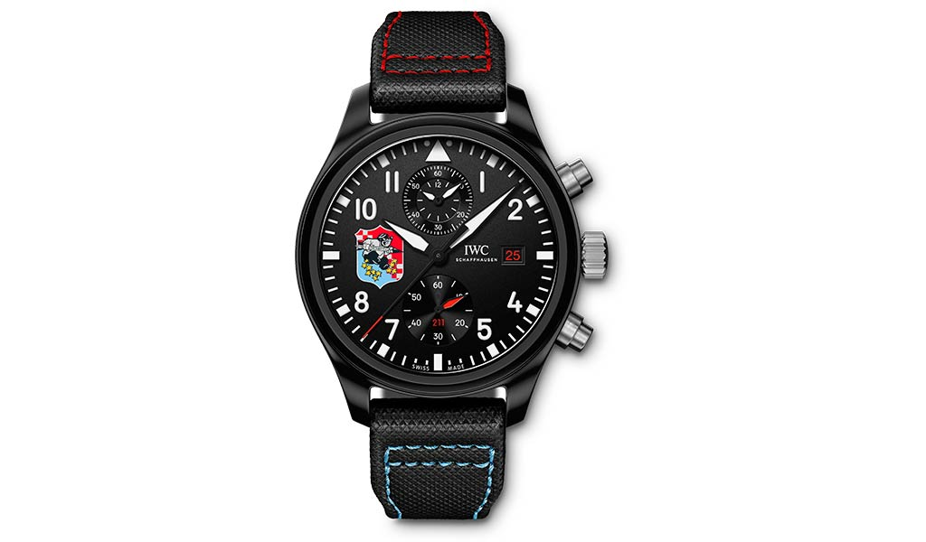 Часы летчика Pilot's Watch Chronograph Edition «Fighting Checkmates»