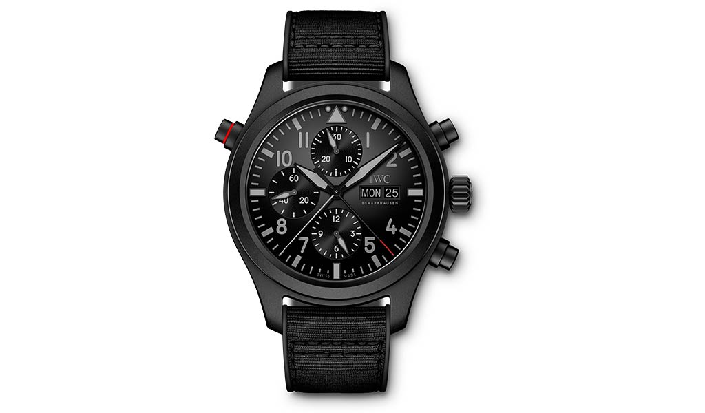 Наручные часы Pilot's Watch Double Chronograph TOP GUN Ceratanium