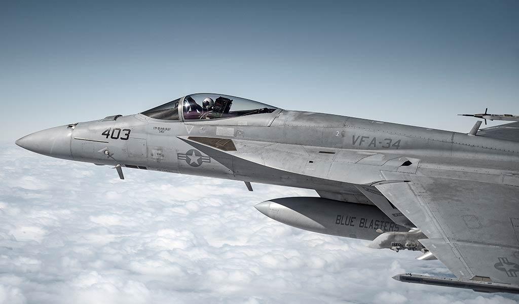 Самолет Super Hornet