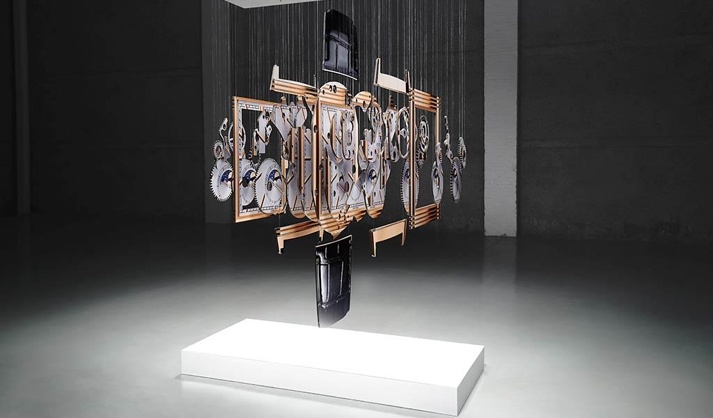 Художественная инсталляция Spacetime