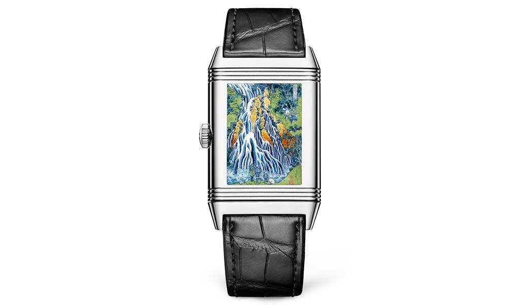 Швейцарские часы роспись эмалью Reverso Jaeger-LeCoultre