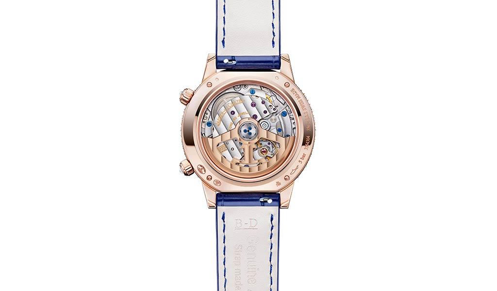 Золотые часы с бриллиантами Jaeger-LeCoultre