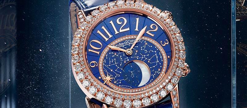 Jaeger-LeCoultre представляет часы Rendez-Vous Dazzling Moon Lazura: ода красоте ночного неба