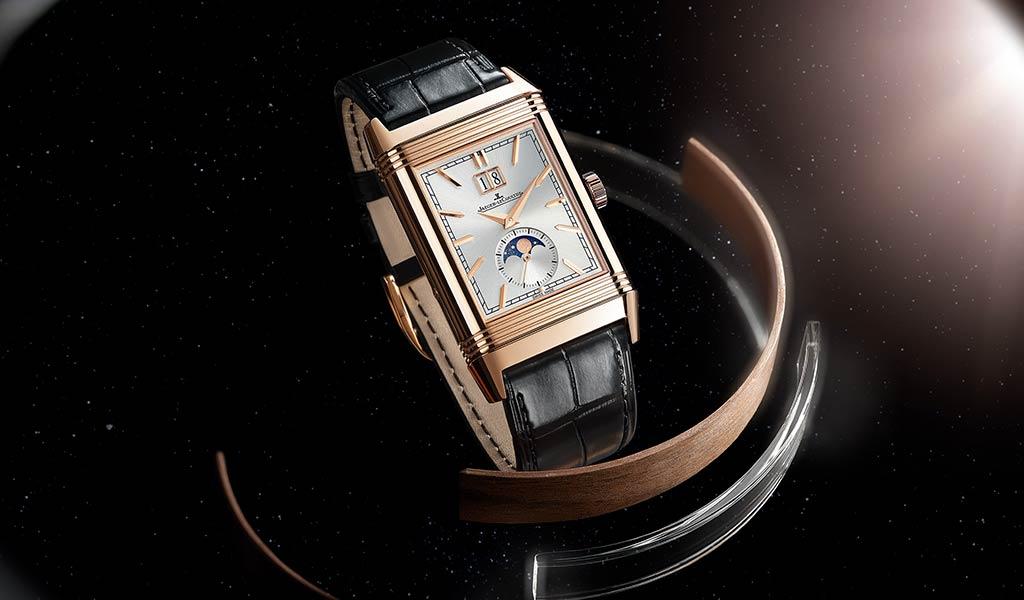 Новые швейцарские часы Reverso Tribute Nonantieme