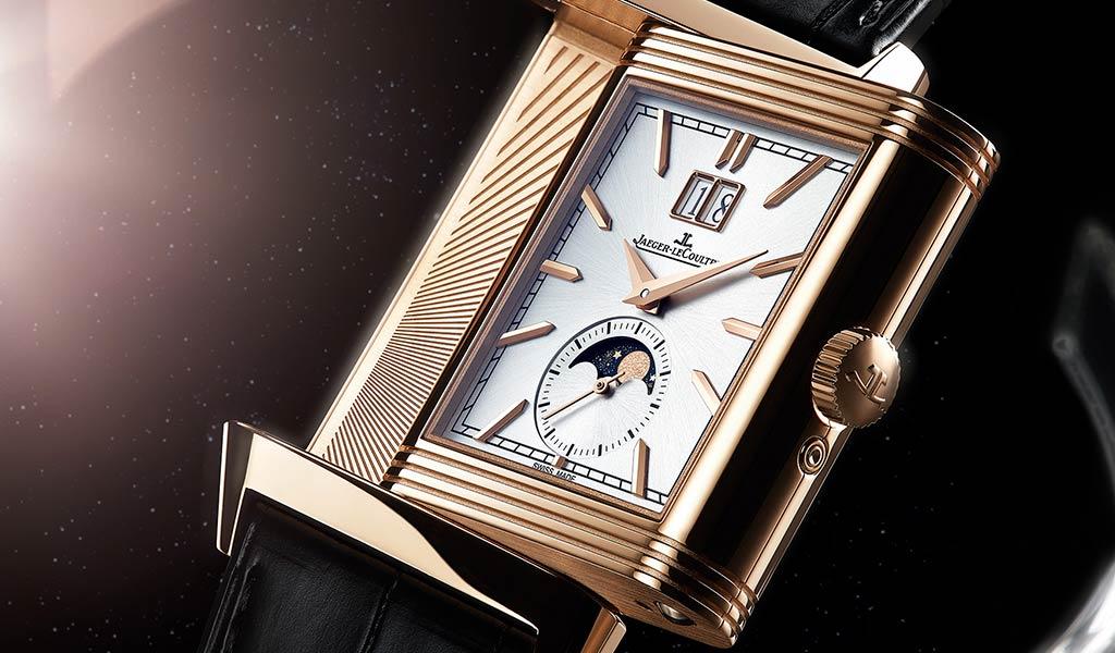 Швейцарские механические часы Reverso Tribute Nonantieme