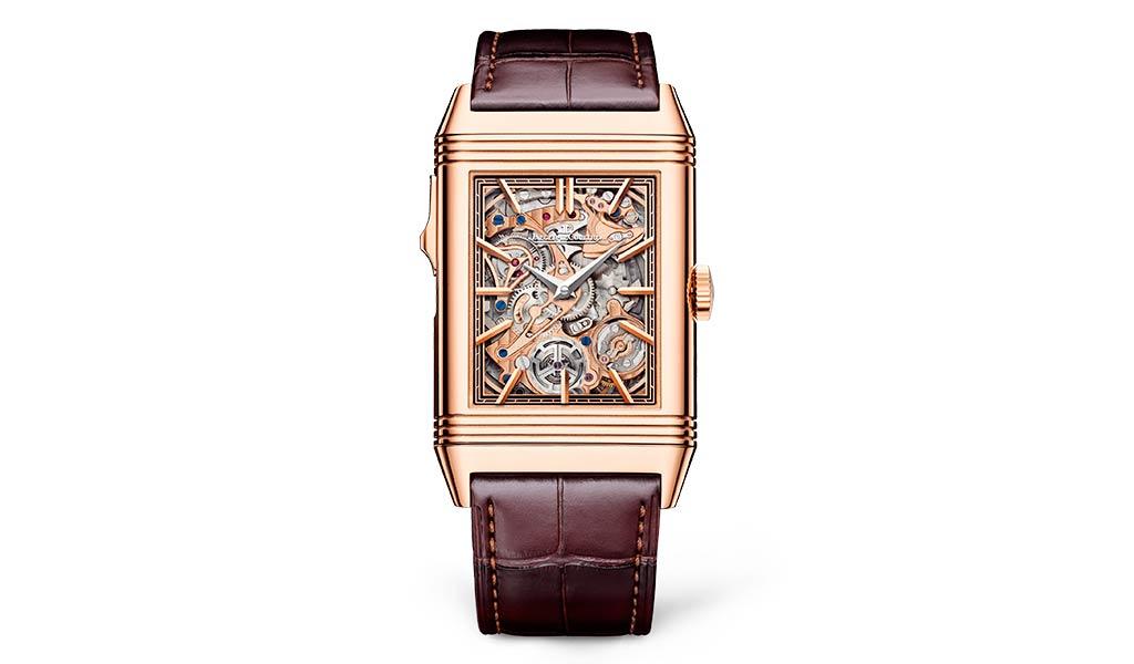 Новые швейцарские часы Reverso Tribute Minute Repeater