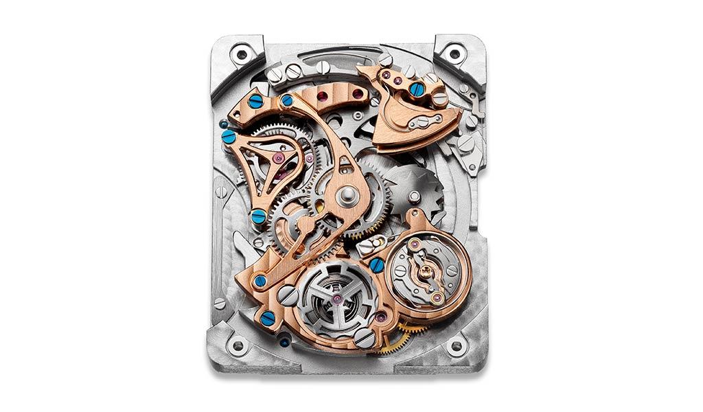 Швейцарский часовой механизм Reverso Tribute Minute Repeater