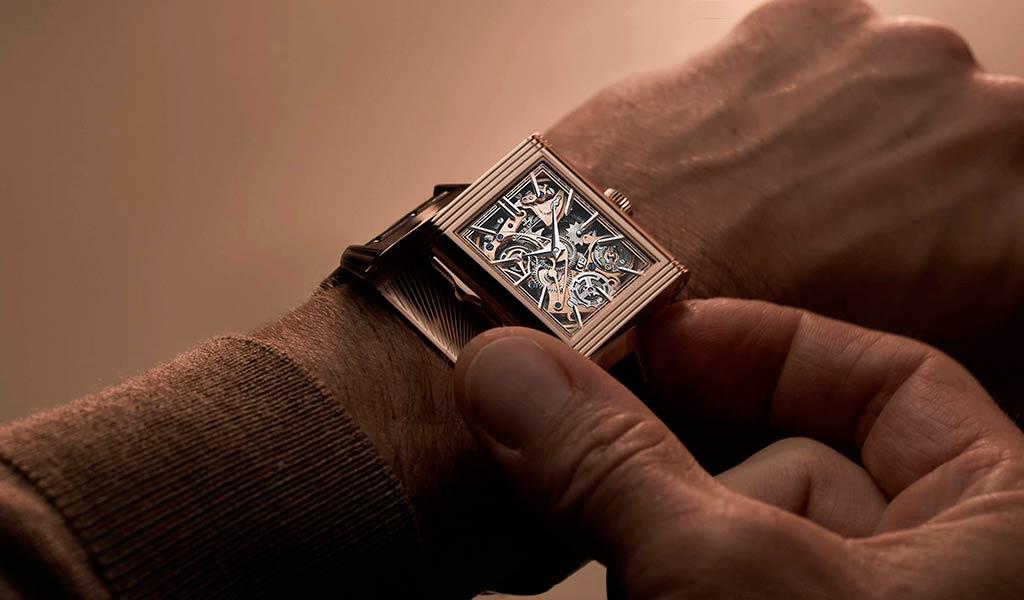 Швейцарские часы с репетиром Reverso Tribute Minute Repeater