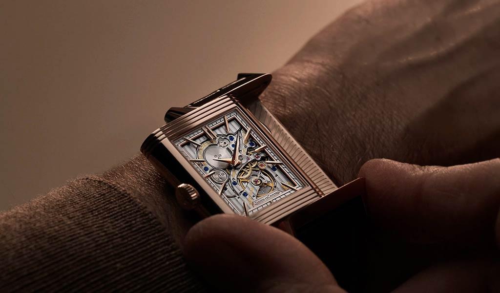 Новые швейцарские механические часы Reverso Tribute Minute Repeater
