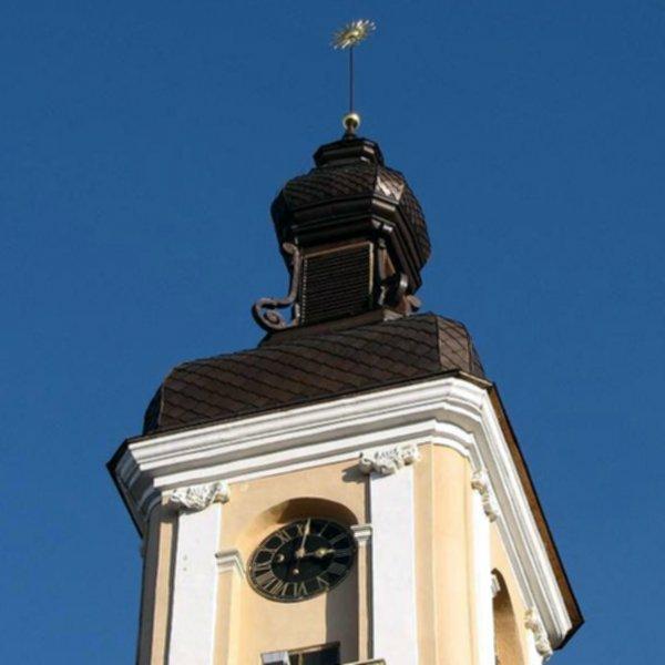 Башенные часы Каменец-Подольский
