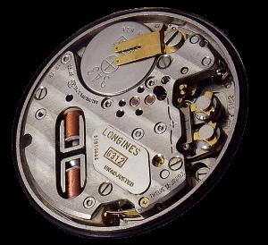 Longines камертонные часы