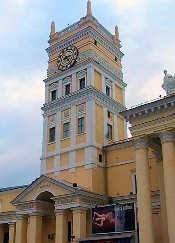 Харьков башенные часы на ЮЖД