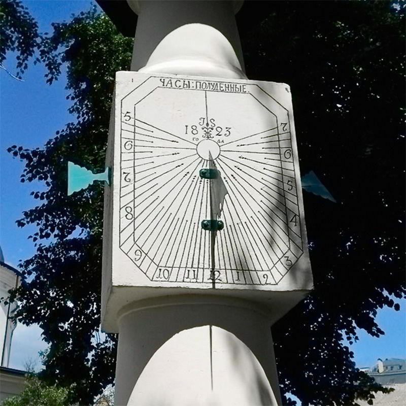 Солнечные часы Пьера Брульона в Киеве на Подоле