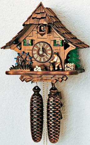 Механические часы с кукушкой