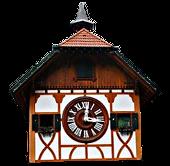 Дом часы с кукушкой