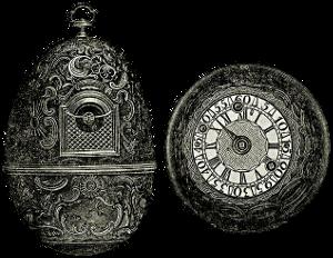 Часы яичной фигуры И.П. Кулибина