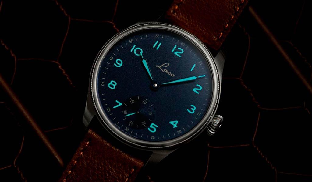 Немецкие механические часы Laco Edition 95