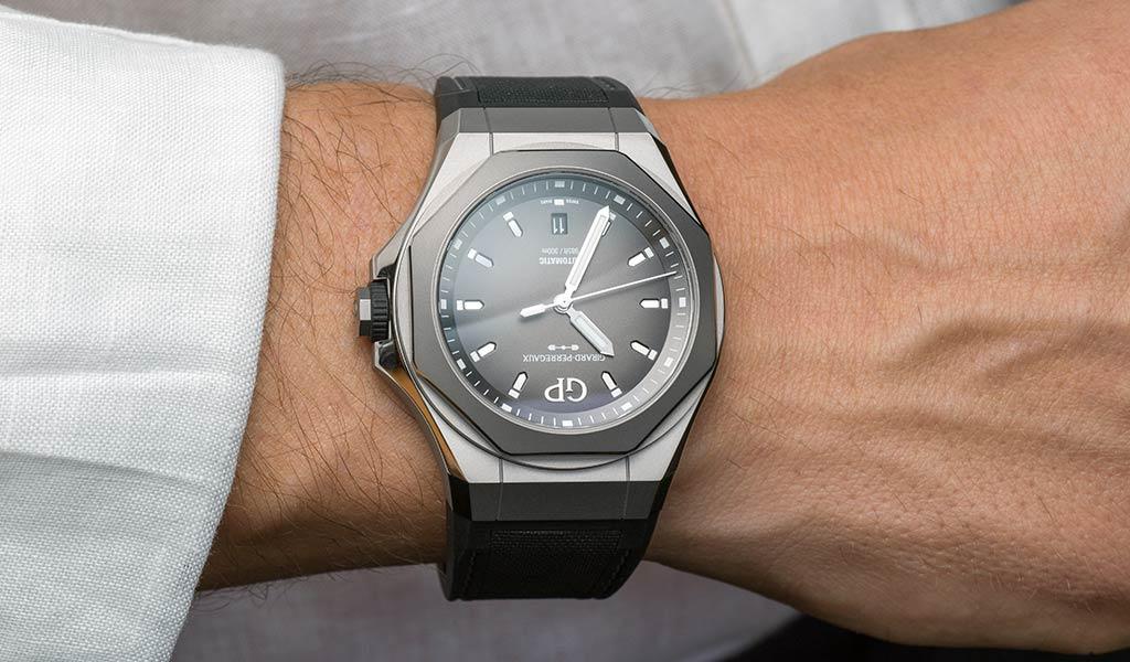Швейцарские наручные механические часы Girard-Perregaux