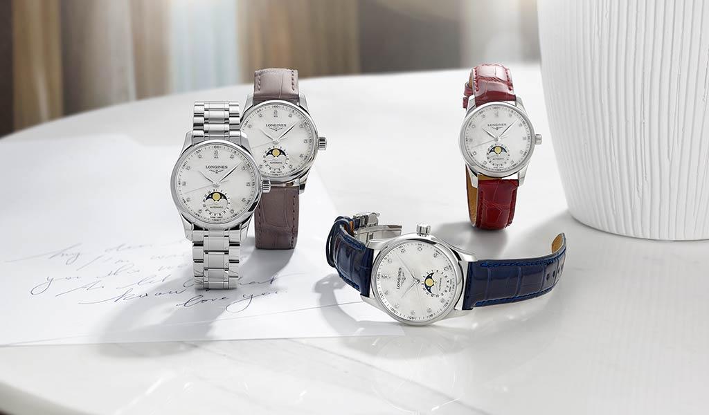 Новые женские часы Longines Master Collection