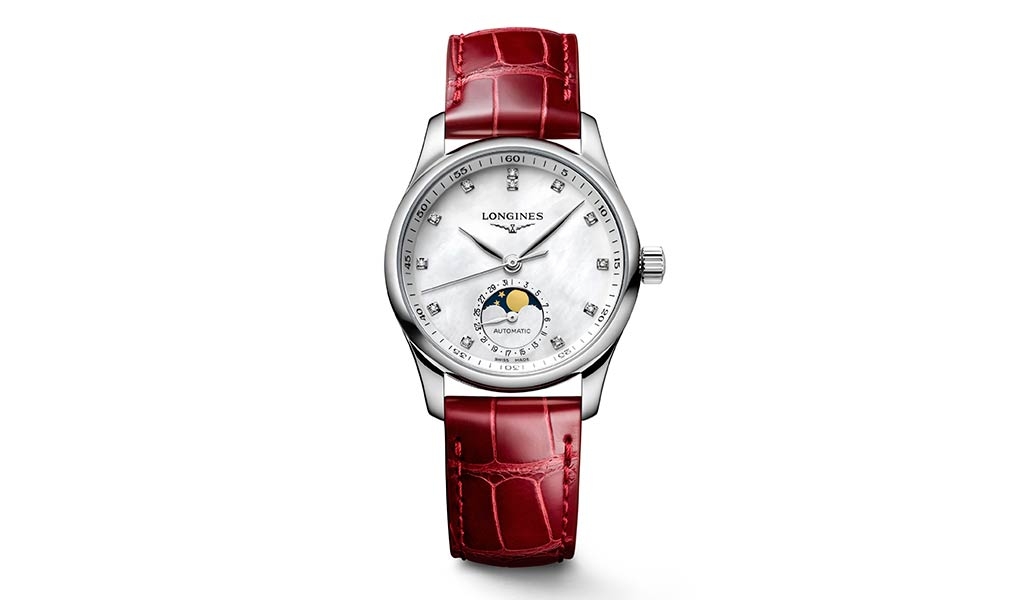 Швейцарские женские часы Longines Master Collection