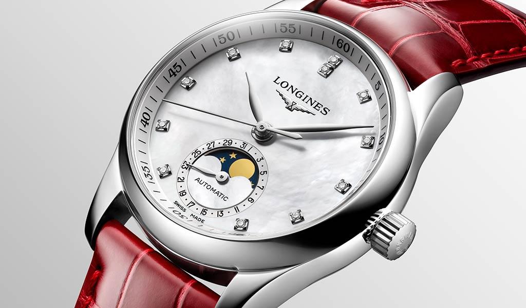 Женские механические часы Longines Master Collection