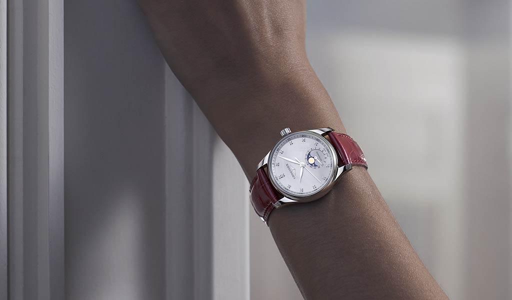 Швейцарские механические наручные часы Longines Master Collection