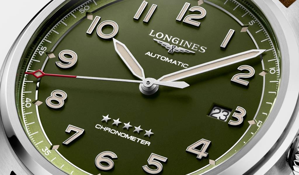 Новые швейцарские часы Longines Spirit