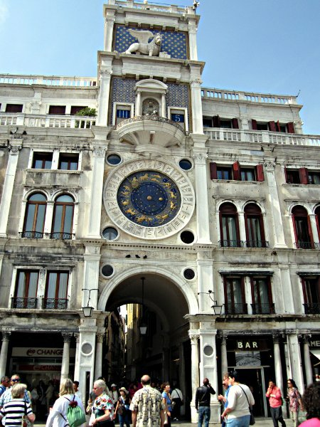 Башня Святого Марка в Венеции Torre dell'orologio