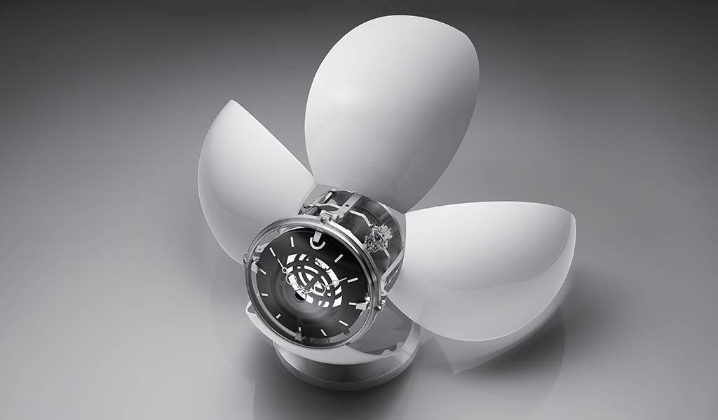 Настольные часы с боем Orb