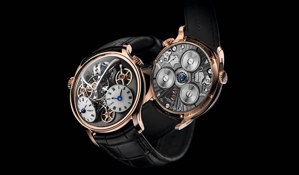 Новые часы с индикацией двух часовых поясов MB&F