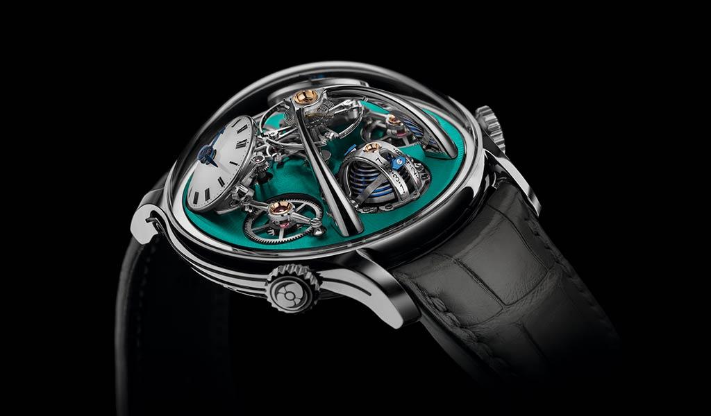 Новые механические часы LMX